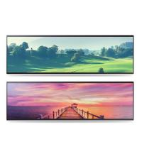 China Horizontal Stretched Bar Lcd Display 32 38 Inch 2/3 Cut Special Size factory