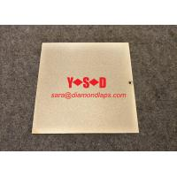 """China Electroplated diamond Lapping Plate for glass 8"""" inch X 8"""" inch  shaped Metal based factory"""