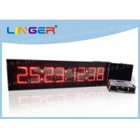 China 8 Digits Digital Countdown Clock Days Hours Minutes Seconds For Indoor factory