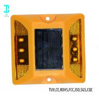 China LED Safe Cat Eye Road Reflector Solar Dock Lights 100h After Fully Charged factory