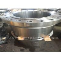 "China Carbon Steel Flange  Forgings Q + T Heat Treatment PN250 Class1500 WN RTJDN100  NPS4"" DN150 NPS6"" DN300 factory"
