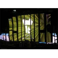 Rental Stage LED Video Curtain Die Casting Aluminum For Background