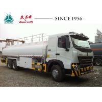 Buy cheap HOWO A7 Fuel Tanker Trucks , 10 Wheeler Truck 20000 Liters Large Load Capacity from wholesalers