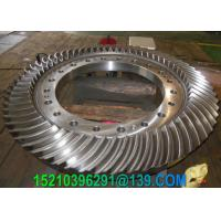 Buy cheap Reduction Box CNC Machining Gears , Marine Ground Tooth Spiral Bevel Gears from Wholesalers