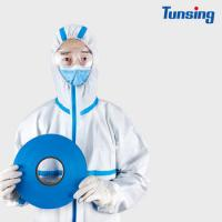China 200m EVA Tape Hot Melt Glue Sheets Medical Non Woven For Protective Clothing factory