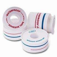China Adhesive Surgical Tapes, Waterproof, Made of Cotton Fabric Composited with PE, Air Permeable factory