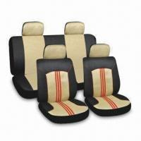 China Car Seat Covers with Embroidered or Printed Logo factory