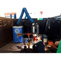 China Portable welding fume extractor/mobile welder fume master/ laser dust collector/plasma cutting smoke purifier on sale