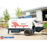 Buy cheap 260L Hydraulic Trailer Mounted Concrete Pump 31.5Mpa Pumping System Pressure from Wholesalers