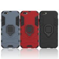 China Armor Shockproof Case For iPhone 6, 6s Finger Ring Holder Phone Cover Coque factory