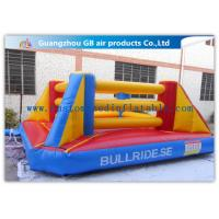 China Exciting Sports Game Inflatable Bounce House Boxing For Kids Playing factory