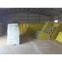 China high temp glass wool pipe insulation factory