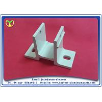 Buy cheap Recyclable Custom Aluminum Fabrication Products White Spray Painting Surface Treatment from Wholesalers