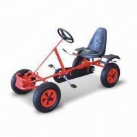 China Go Cart with UV-resistant Powder Coating and Adjustable Seat Position factory