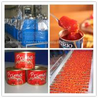 Buy cheap Complete Tin Can Ketchup Tomato Paste Production Line 1 Year Warranty from Wholesalers