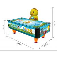 Buy cheap Indoor Amusement Park Coin Operated Air Hockey Machine Children Sport Game from wholesalers