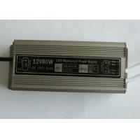 Small Aluminum Case IP67 Waterproof LED Power Supply 80W with free air convection