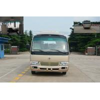 Buy cheap Japan Toyota Style Coaster Minibus Euro 25 Passenger Mini Bus 3850 Curb Weight from Wholesalers