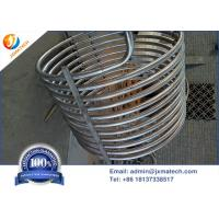 China Cold Rolling Coiled Zirconium Tube Zirconium 702 UNS R60702 For Heat Exchanger on sale