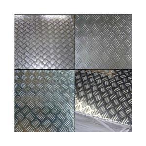 China Mill Finish Diamond Aluminum Sheet Aluminium Checker Plate For Machine Floor factory