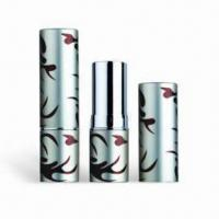 China Cosmetic Packaging/Lipstick Tubes, Customized Colors are Accepted, Available with Height of 71mm factory