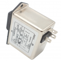 China Low pass Low-frequency IEC inlet EMI Filter With fuse-holder and switch with light factory