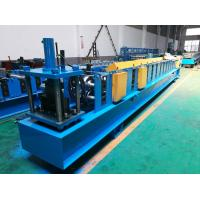 Buy cheap Seamless Half Round Gutter Roll Forming Machine With Side Panel Structure from Wholesalers