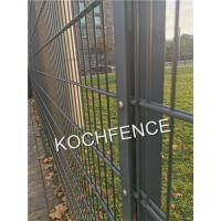 China PVC Coated Wrought Iron Fence 8/6/8mm Wire Diameter Long Serve Life Anti Rust on sale