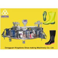 Buy cheap Automatic Plastic Shoes Injection Molding Machine For Rain Boots / Gumboots from Wholesalers