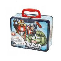 China Marvel Avengers Puzzle Tin Lunch Box factory