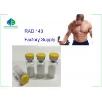 Buy cheap Pharmaceutical Raw Materials SARMs Powder Legal Anabolic Steroids RAD 140 from wholesalers