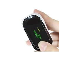 China Silicon Cover Display TFT Spo2 Finger Pulse Oximeter With Alarm factory