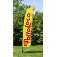 Buy cheap Outdoor Business Flags And Banners , Full Color Pull Up Banner 4.6 Meter from Wholesalers