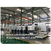Buy cheap YUNXIANG Group Lead Edge High Definition Flexo Printer Slotter Machine from wholesalers
