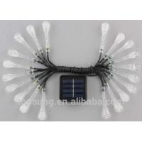 Buy cheap 20leds solar garden lights 5m colorfule led christmas lights from Wholesalers