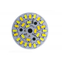Buy cheap 5730 SMD Dimmable LED PCB Plate , Led Light Bulb Circuit Board With Integrated IC Driver from Wholesalers