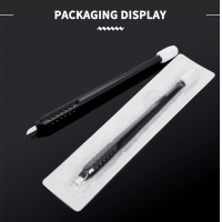 China ODM 3D Manual Tattoo Pen With Blade Curved 0.25mm factory
