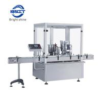 Buy cheap high quality E-liquid  Plastic bottle  Filling sealing packing machine capacity 80-100pcs/min from Wholesalers