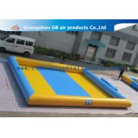 China Colorful Pvc Material Square Kids Inflatable Swimming Pools CE RoHS Certification factory