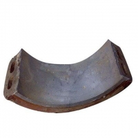 China Grinding Mill Bearing Tile ISO9901:2000 Castings And Forgings and ball mill parts factory