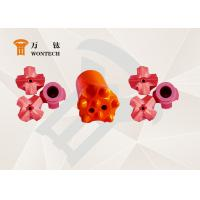 China Endurable Borehole Drill Bit , Foundation Drilling tapered drill bit 6° 7° 11° 12° factory