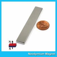 """Buy cheap N45 Super Strong Neodymium Magnet Bar Block 3""""x 1/2""""x 1/8"""" inch Big Size from Wholesalers"""