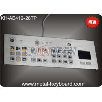 Quality Touchpad 28 Keys Industrial Metal Keyboard , flat matrix / squre buttons wholesale
