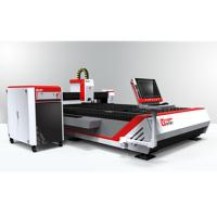 China CNC Open Fiber Laser Cutting Machine for Metal Sheets GF-1530 on sale