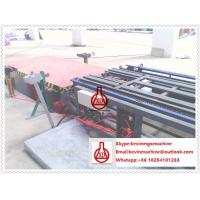 China Double Roller Extruding Sandwich Panel Line , Glue Spreading Veneering Drying Wall Panel Equipment on sale