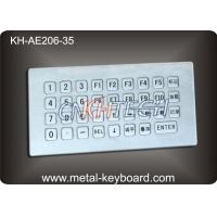 High Reliability IP65 Industrial PC Keyboard with Rugged Metal Material