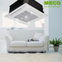 China Four Way Cassette Fan Coil Unit High Efficiency Energy Saving Compact Design on sale