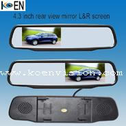 China Left or Right Screen Clip-on Car Rear View Mirror KC0443 on sale