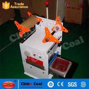 China New X04355 Manual Meal Tray Sealing Machine Food Tray Sealing Machine factory