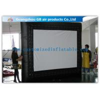 Buy cheap Customized Inflatable Backyard Movie Screen 3 * 3m For Outdoor Events from Wholesalers